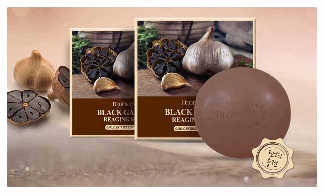 Косметическое мыло Deoproce Black Garlic Soap