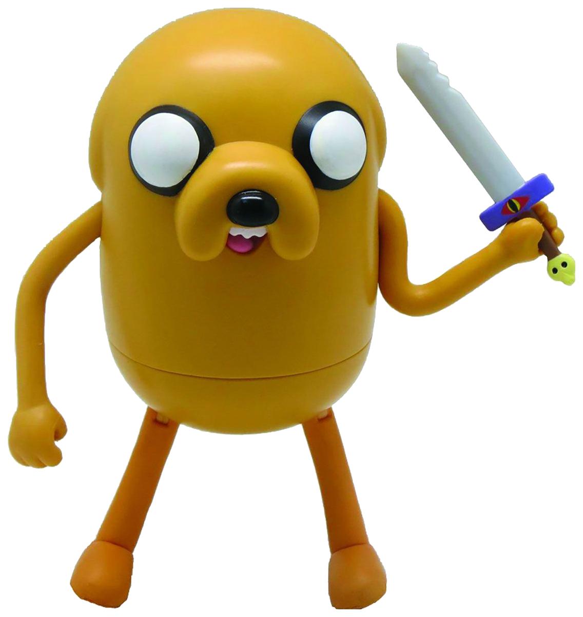 Фигурка персонажа Adventure Time Jake with Sword 14 см фото