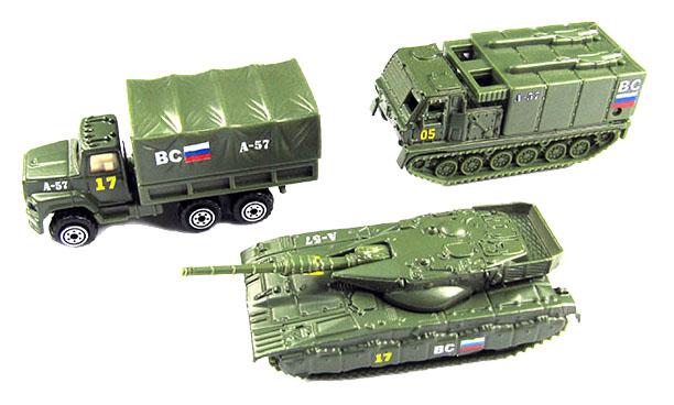 Игровой набор Наша игрушка Военная техника с солдатиками
