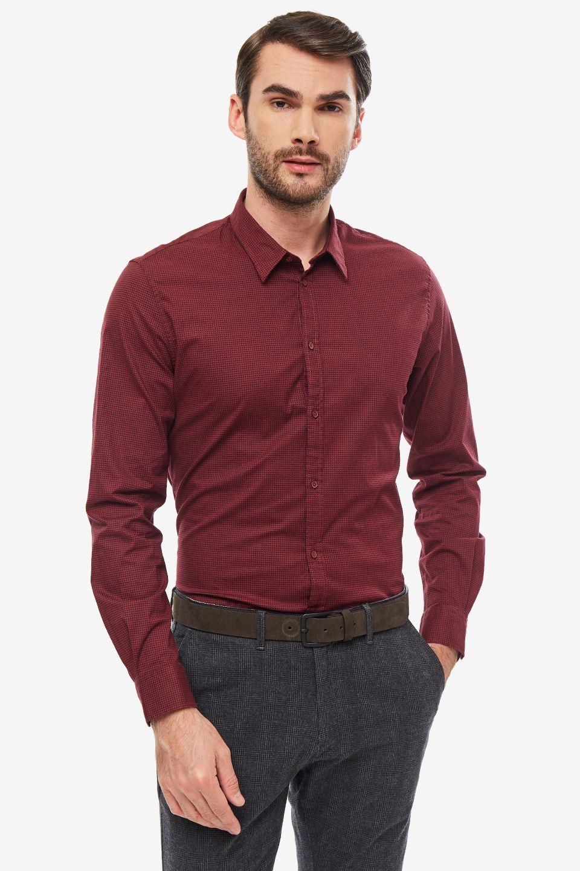 Рубашка мужская Gaudi красная