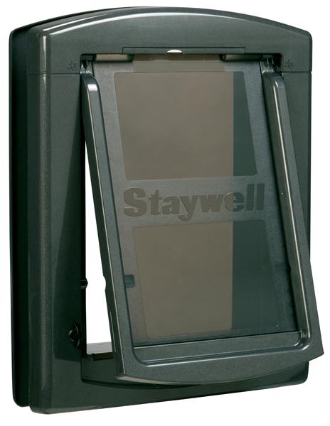 Дверца для собак StayWell 860, темно серая,