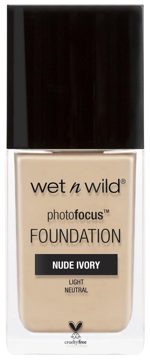 Тональный крем Wet n Wild Photo Focus Foundation E363С Nude Ivory 30 мл