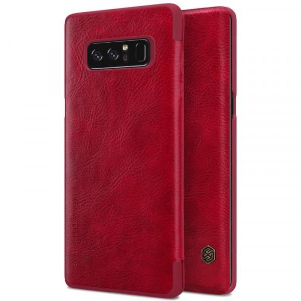 Чехол  Nillkin Qin Series для Samsung Galaxy Note 8 Red