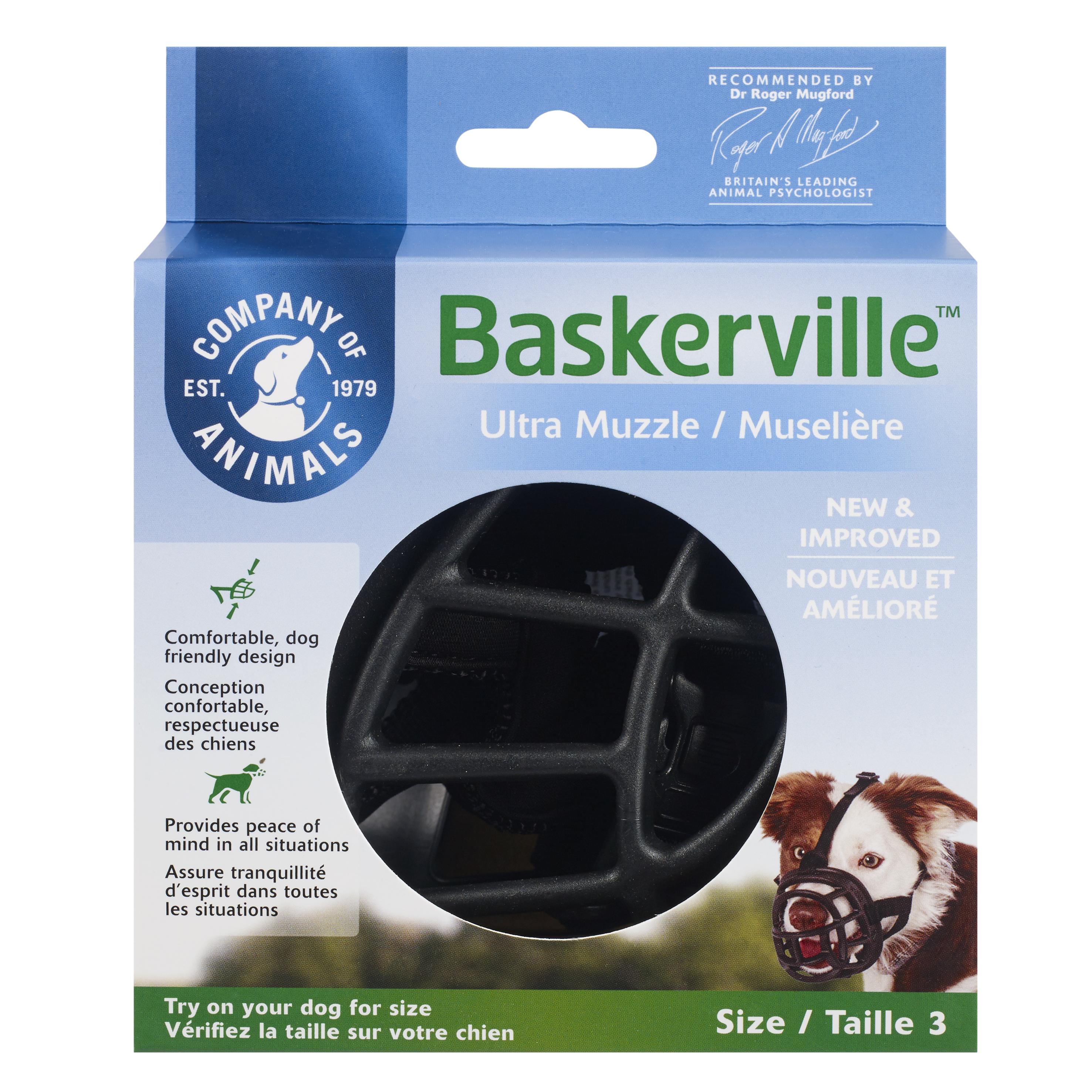 Намордник для собак COA Baskerville Ultra, Size