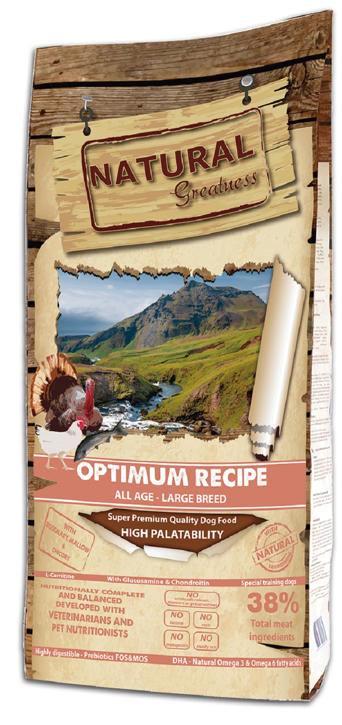 Сухой корм для собак Natural Greatness Optimum