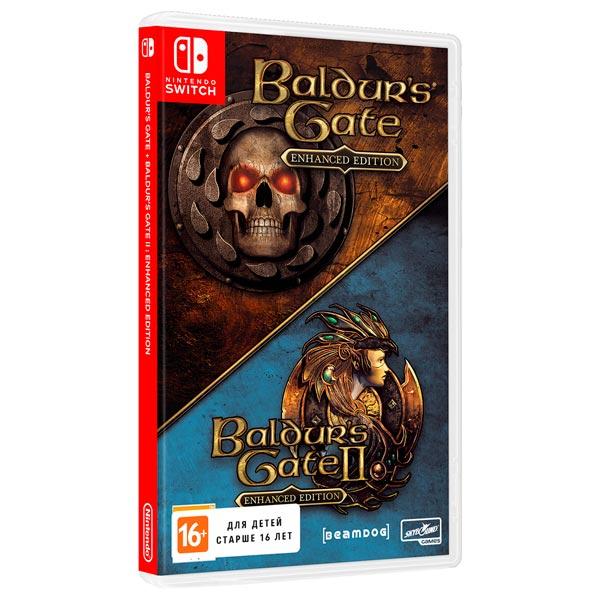 Игра для Nintendo Switch Baldur's Gate & Baldur's Gate II Enhanced Edition, Baldur's Gate 1/2: Enhanced Edition, Skybound  - купить со скидкой