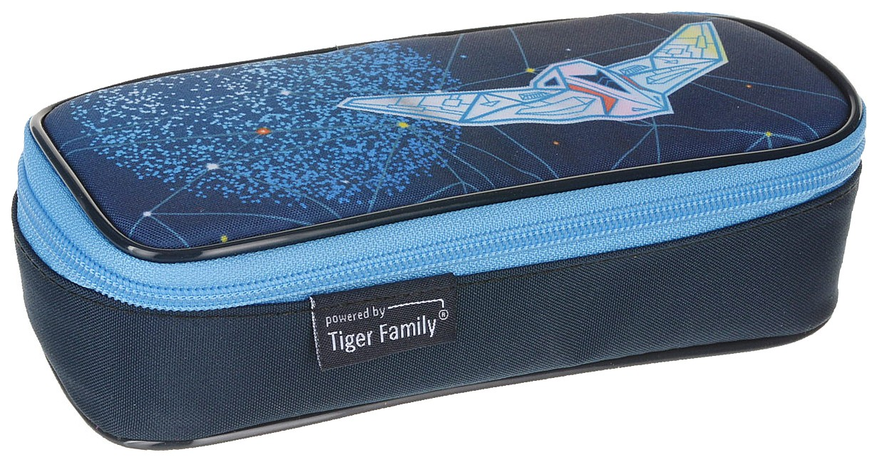 Пенал Tiger «Путешествие в космосе» 9x20,5x6 см