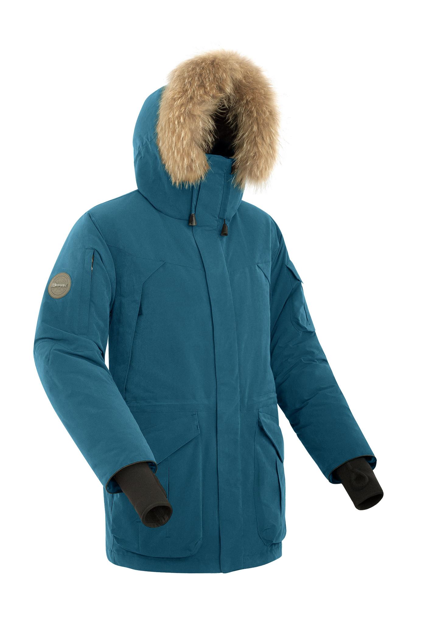 Куртка мужская Bask Alkor, синяя, 46 RU фото
