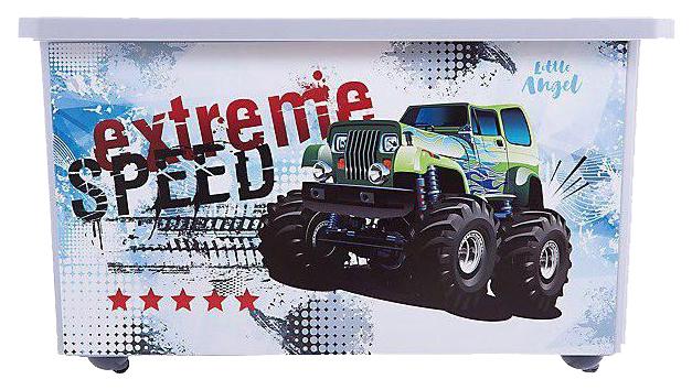Детский ящик для хранения игрушек Супер трак, 57 л LA1031