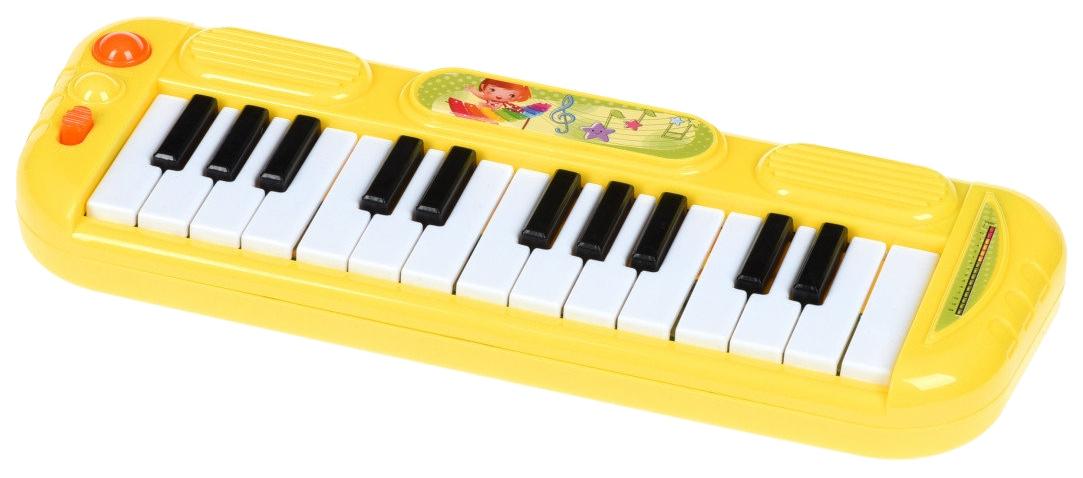 Купить Инструм. муз. синтезатор на бат., синий, CRD 29?18?3 см, арт. FL9303C, Shenzhen Toys, Детские музыкальные инструменты