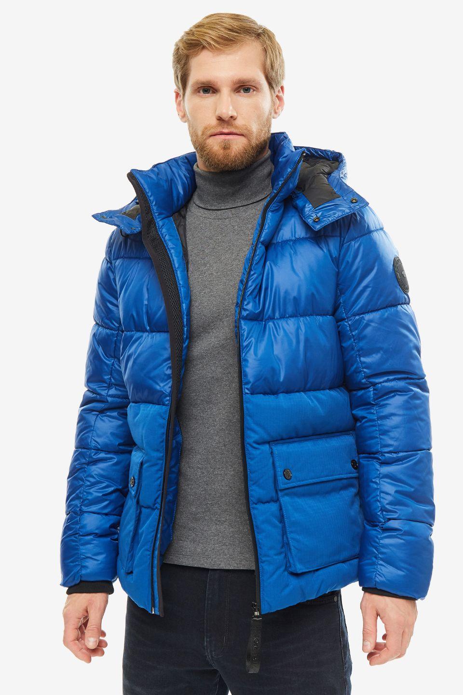 Куртка мужская TOM TAILOR 1012108-10407 синяя L фото