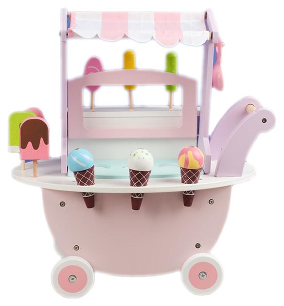 Купить Игровой набор Тележка с мороженым Sima-Land, Детские тележки для супермаркета
