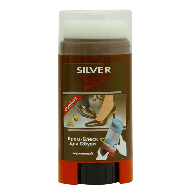 Крем блеск для обуви Silver Premium Comfort