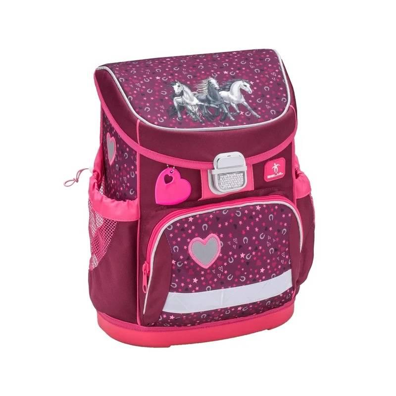 Ранец Mini-Fit I Love Horse Belmil для девочек Розовый 405-33/609 I LOVE HORSE