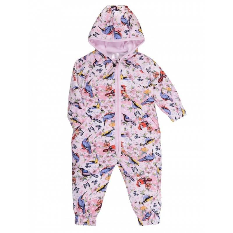 Купить 19-414, Комбинезон Мамуляндия, цв. розовый, 68 р-р, Трикотажные комбинезоны для новорожденных