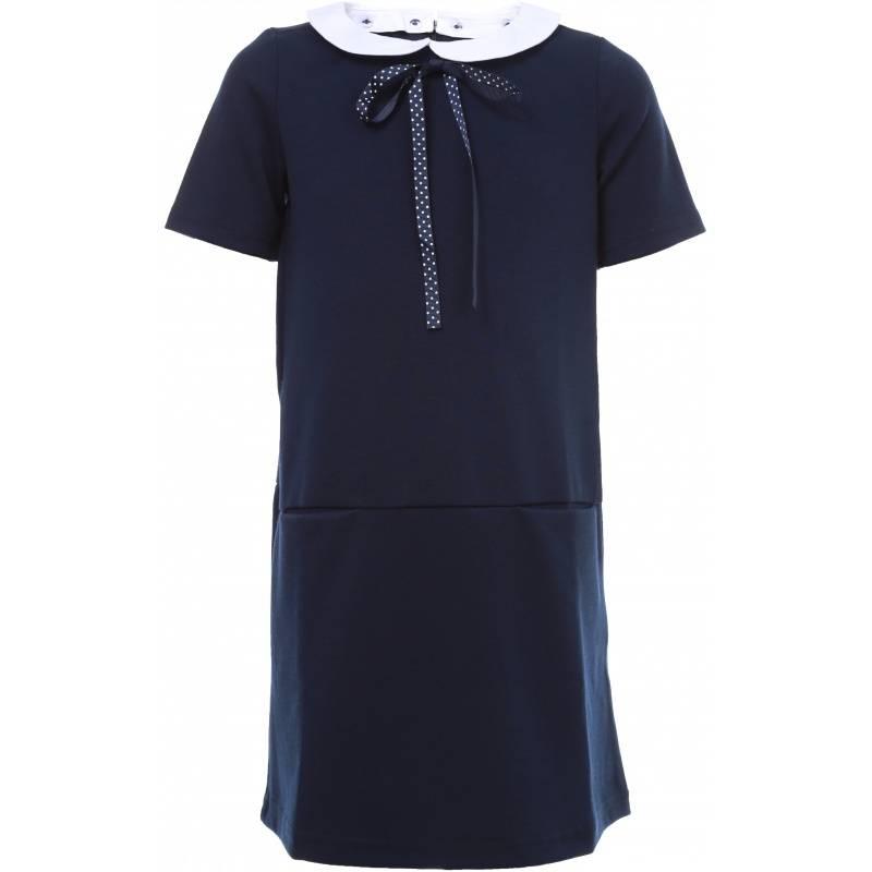 Купить Платье S'COOL!, цв. темно-синий, 146 р-р, S'Cool, Детские платья и сарафаны