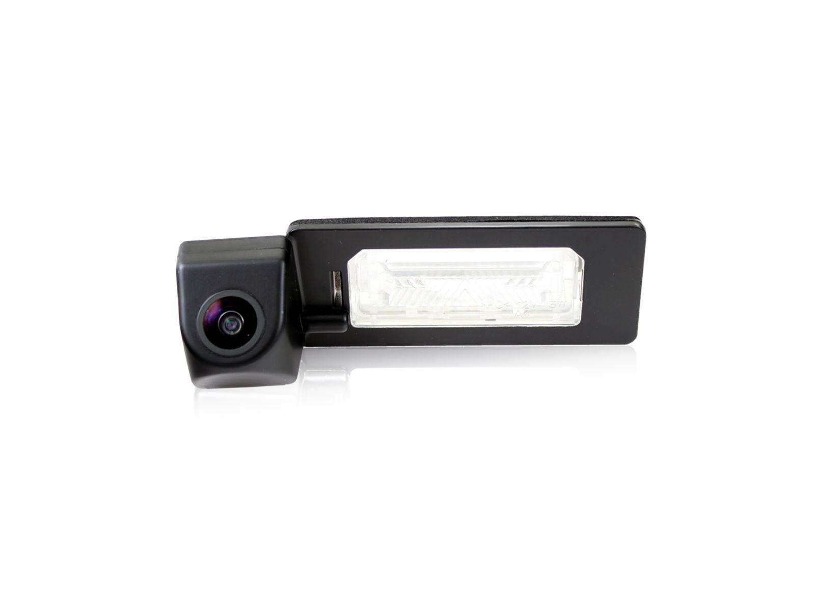 Камера заднего вида ParkGuru для Audi A4, A5, A7, Q3, Q5, Skoda Fabia 13+, Yeti 13+ FC-0549-T2  - купить со скидкой
