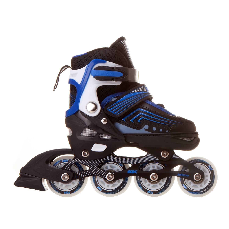 Раздвижные роликовые коньки RGX Atom Blue