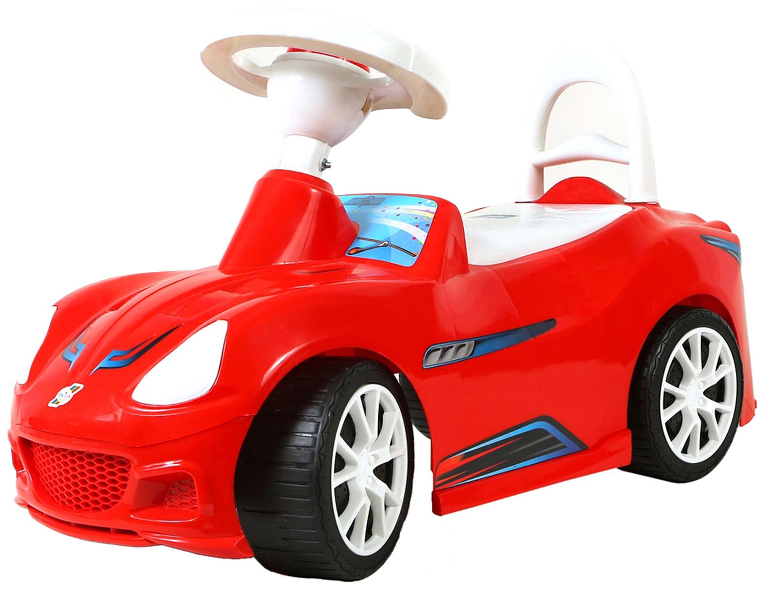 Каталка детская Orion Машинка Спорткар Красный