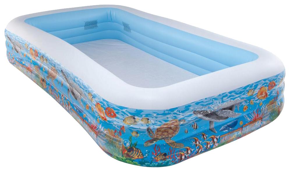 Купить Бассейн Intex Обитатели морей 305х183х56см от 6 лет, Детские бассейны