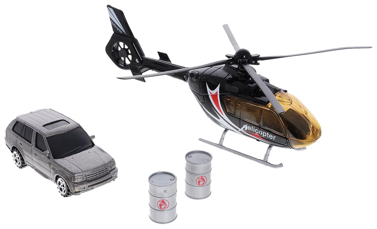 Купить Игровой набор Big Motors Вертолет и машинка, Наборы игрушечного транспорта