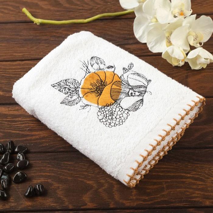 Allegro Кухонное полотенце Malva Цвет: Охра (50х70 см)