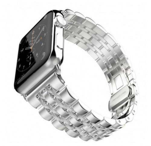 Ремешок GoodChoice Steel для Apple Watch 42-44mm Silver  - купить со скидкой