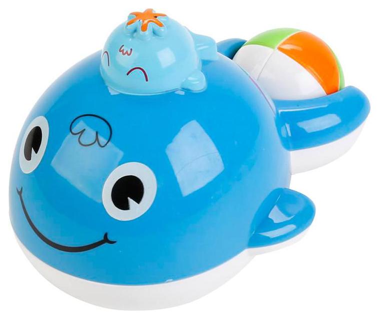 Купить Игрушка для ванной Умка Веселый кит ZY403178-R, Игрушки для купания