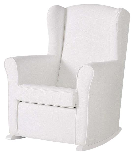 Купить Кресло-качалка Micuna (Микуна) Wing/Nanny white/white искусственная кожа, Детские стульчики