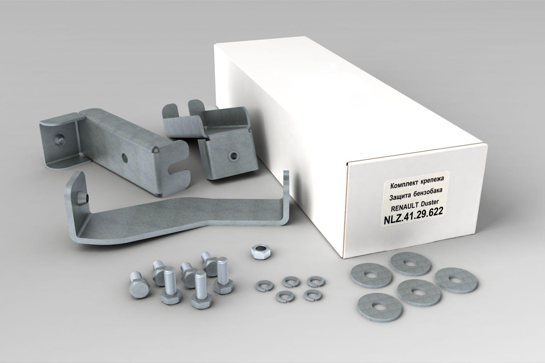 Комплект крепежа для Защиты бензобака, подходит для RENAULT Duster 4x4 (2011-05/2015)