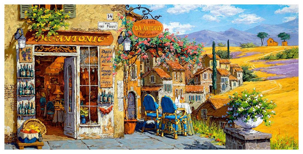 Купить Пазл Castorland Цвета Тосканы C-400171 4000 элементов, Пазлы