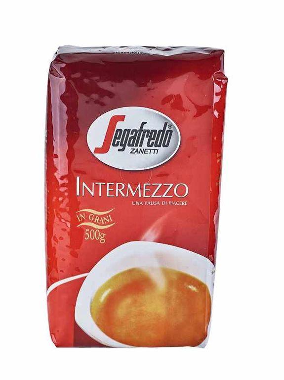 Кофе в зернах Segafredo Intermezzo 500 г по цене 729