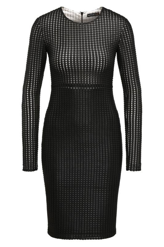 Платье женское Apart 45683 черное 38 DE фото