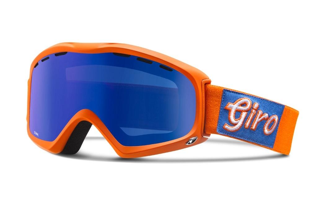 Горнолыжная маска Giro Signal 2017 Orange/Blue M