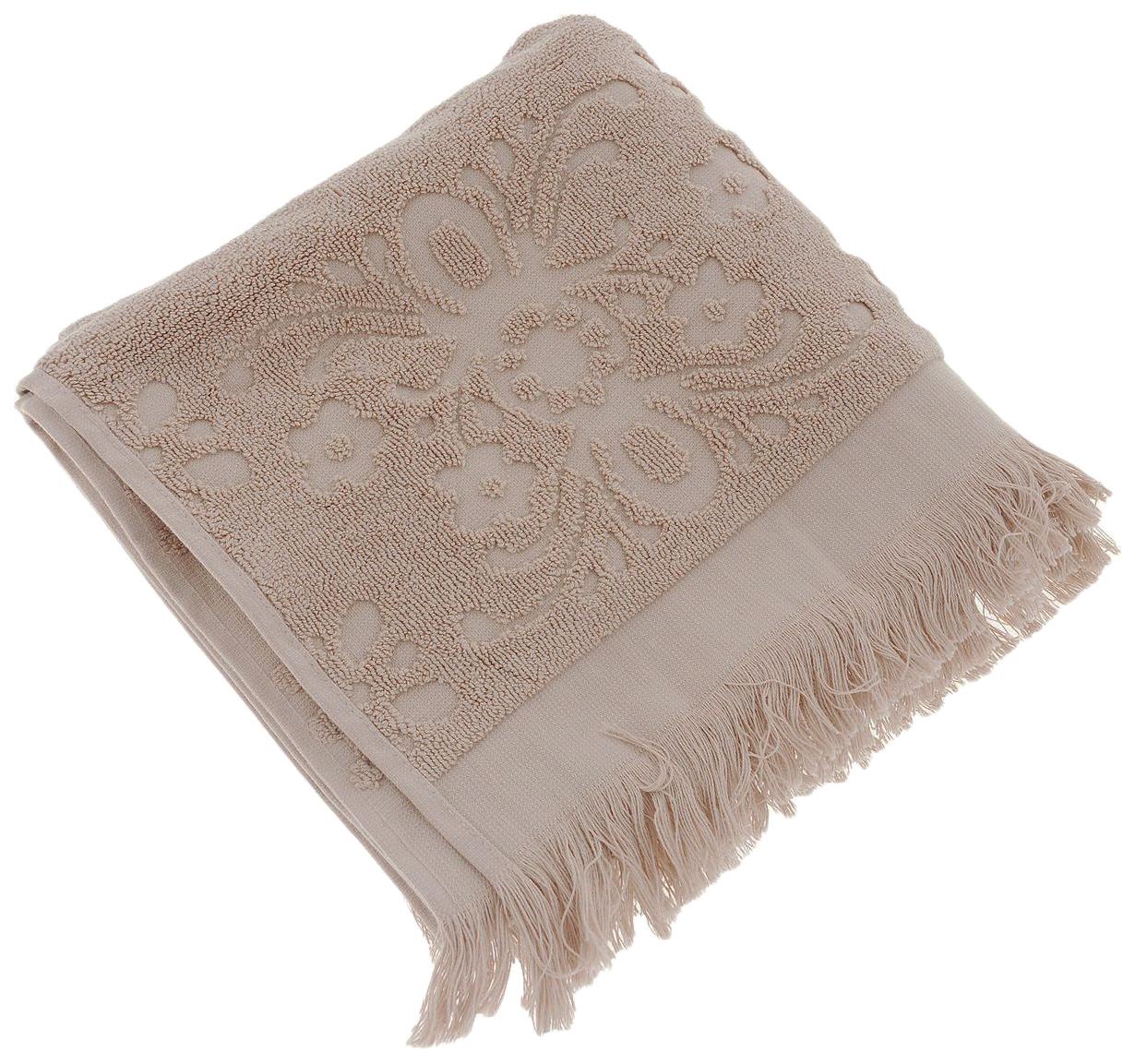 Банное полотенце, полотенце универсальное Arya бежевый