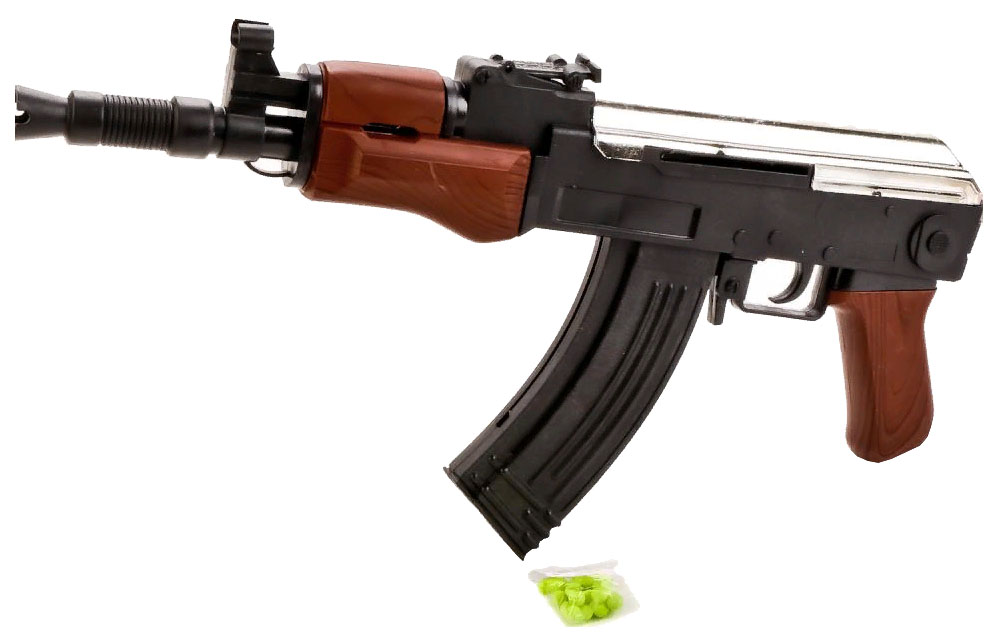 Купить Автомат с Пульками Ts45 37 см, Shantou Gepai, Стрелковое игрушечное оружие