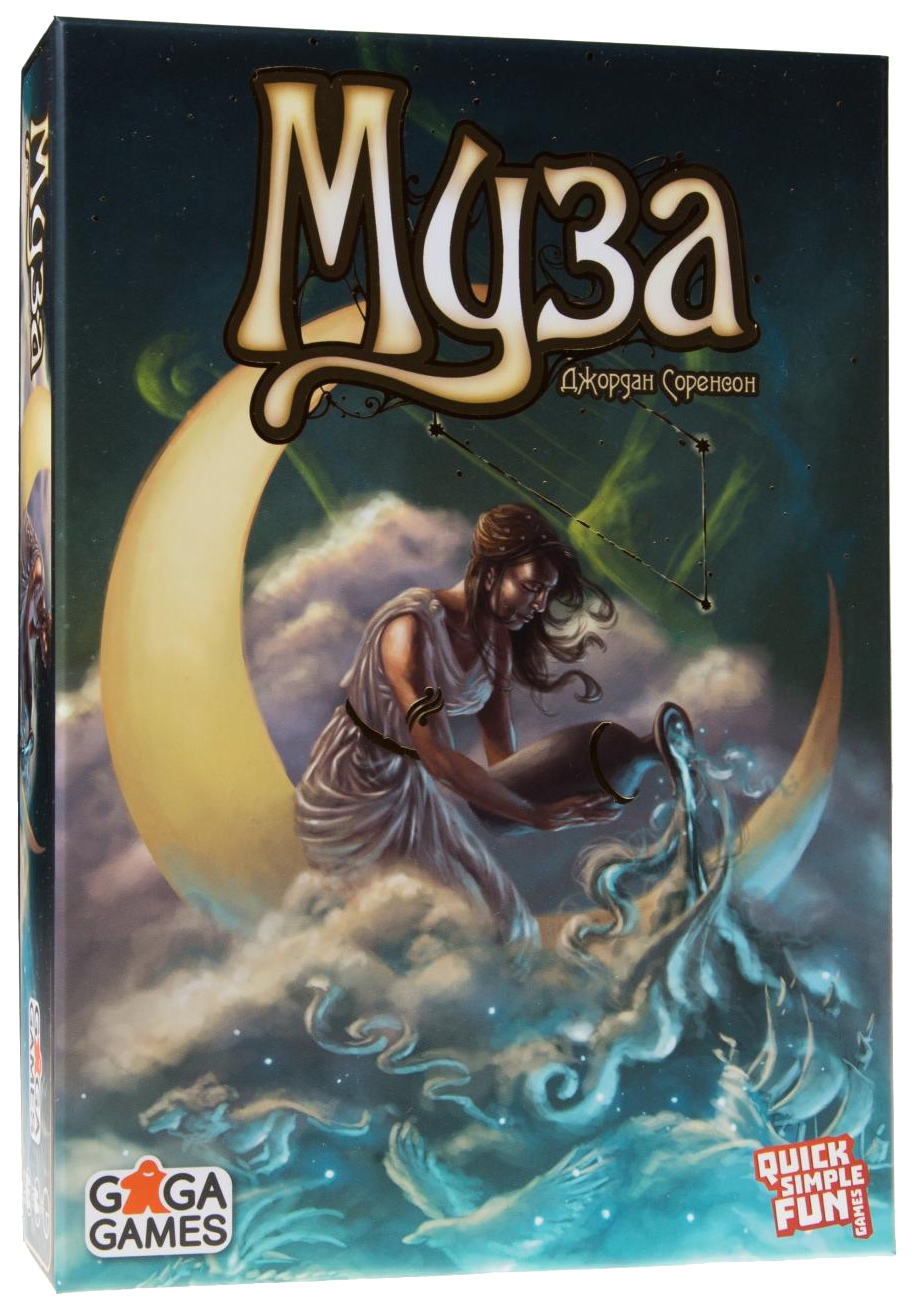 Купить Семейная настольная игра GaGa Games Муза GG116, Семейные настольные игры
