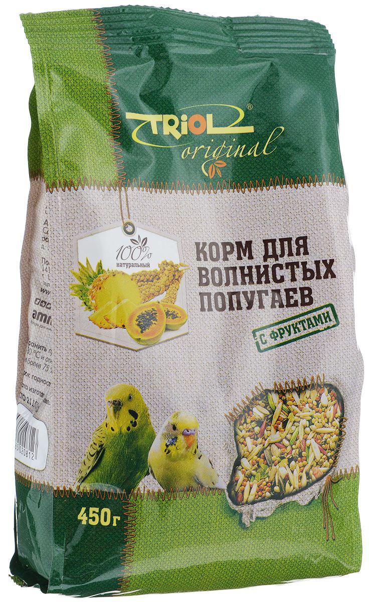 Основной корм Triol для волнистых попугаев