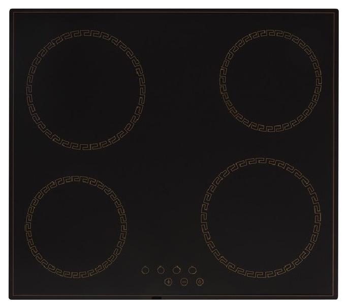 Встраиваемая варочная панель электрическая Simfer H60D14L011 Black