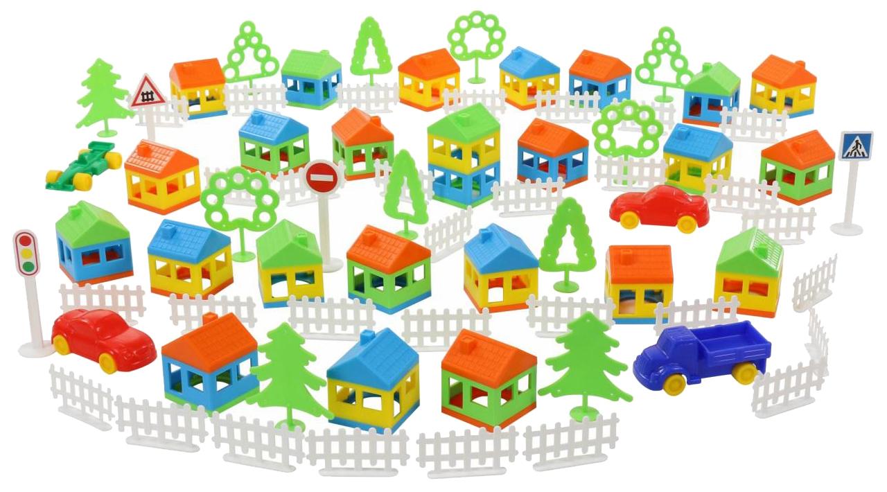 Конструктор пластиковый Полесье Построй свой город 146 элементов