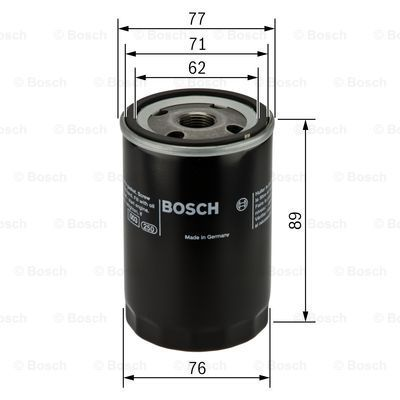 Масляный фильтр Bosch 0 451 103 227