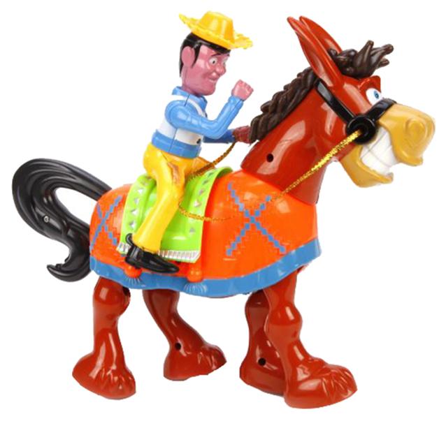 Купить Интерактивная игрушка Наша Игрушка Веселый ковбой Y4935067, Наша игрушка, Интерактивные мягкие игрушки