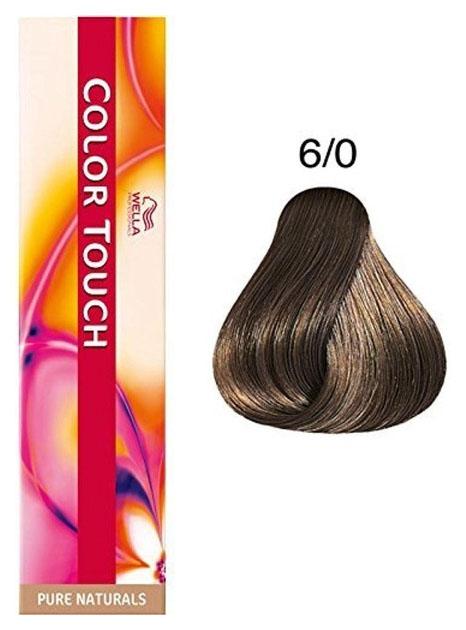 Купить Краска для волос Wella Professionals COLOR TOUCH 6/0 Темный блонд 60 мл