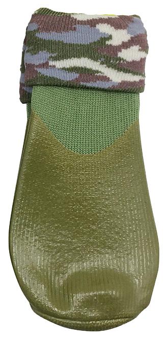 Носки для собак БАРБОСки размер L 4 шт зеленый.