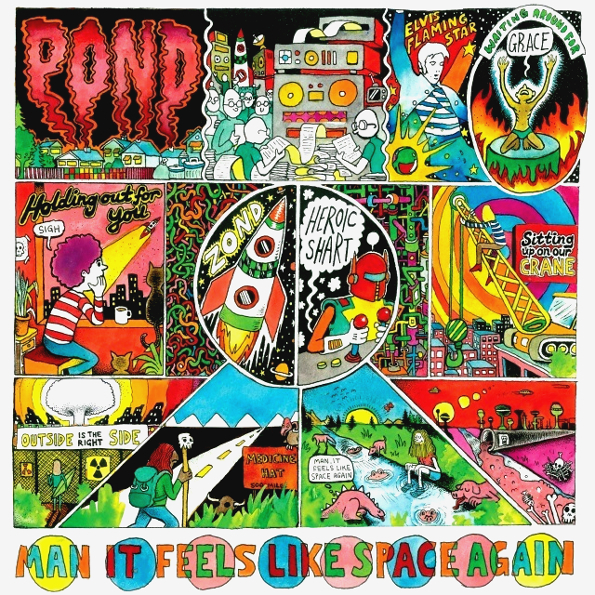 "Pond ""Man It Feels Like Space Again"" (LP)"