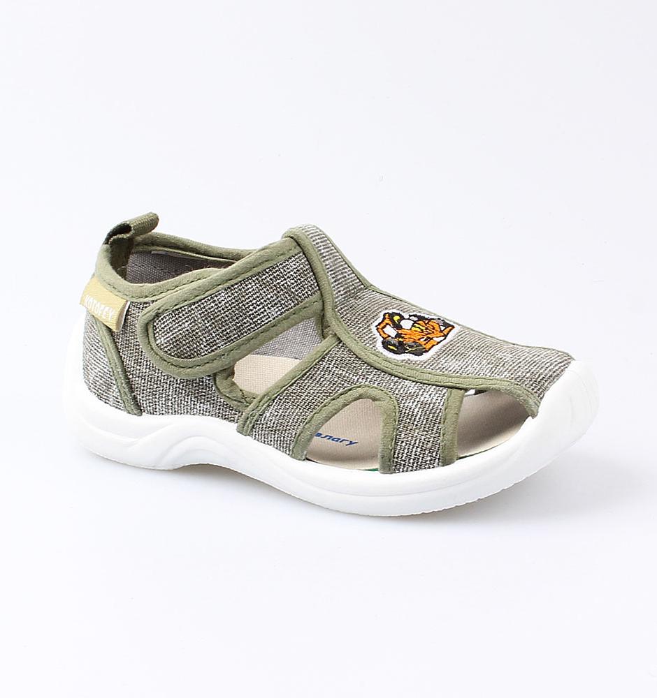 Купить Текстильная обувь Котофей 221068-12 для мальчиков р.25, Детские сандалии