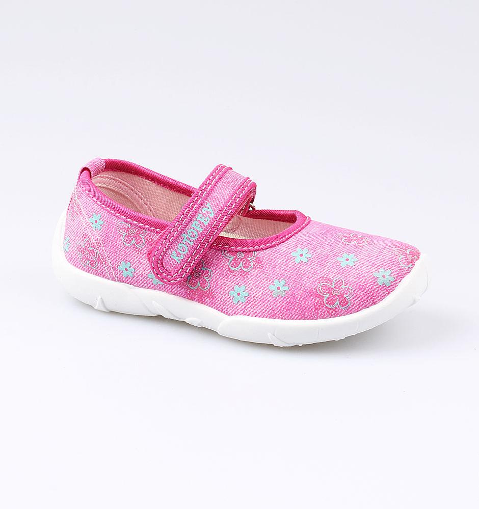 Текстильная обувь Котофей 431128-12 для девочек р.28