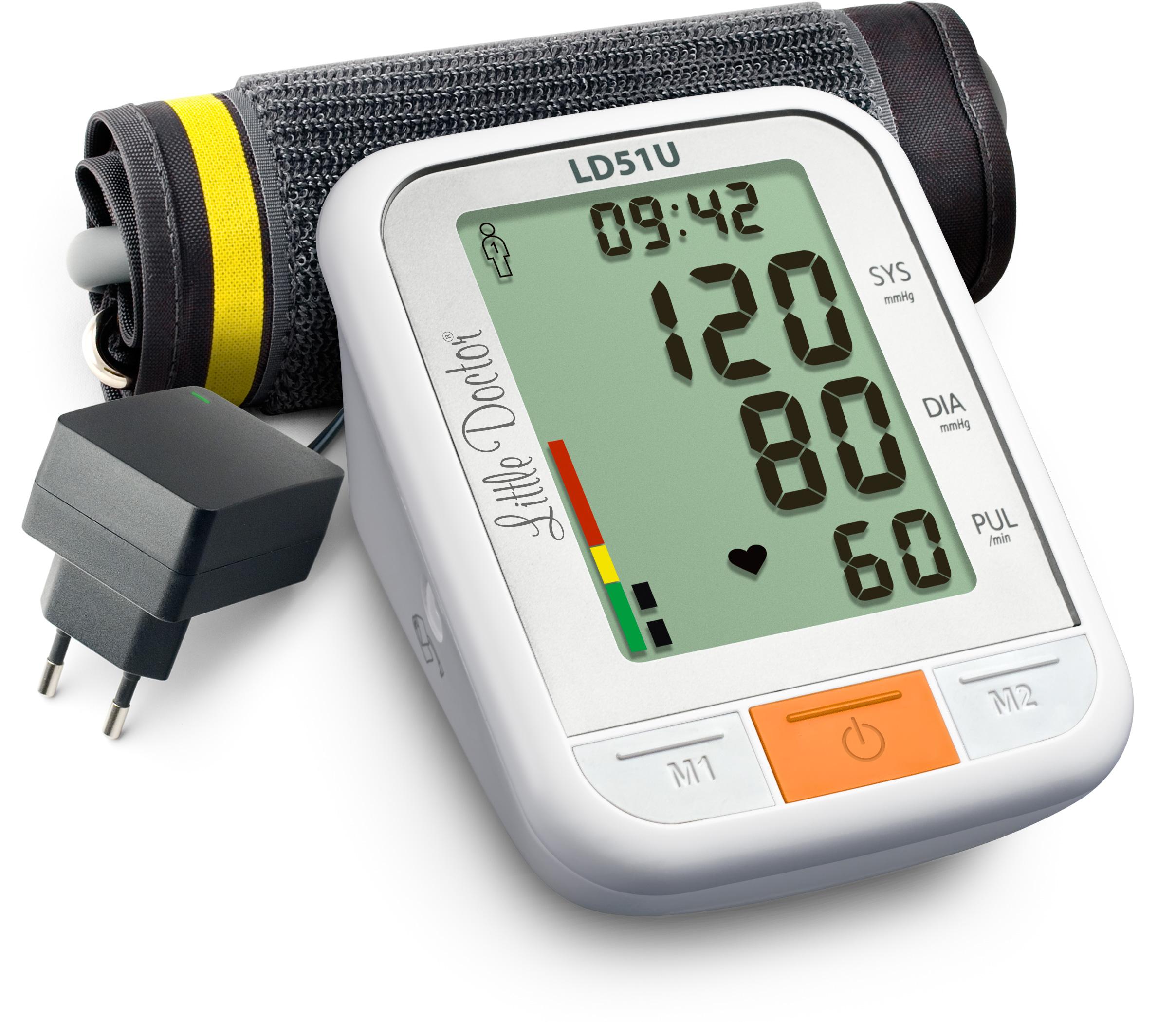 Тонометр Little Doctor LD51U автоматический на плечо с адаптером фото