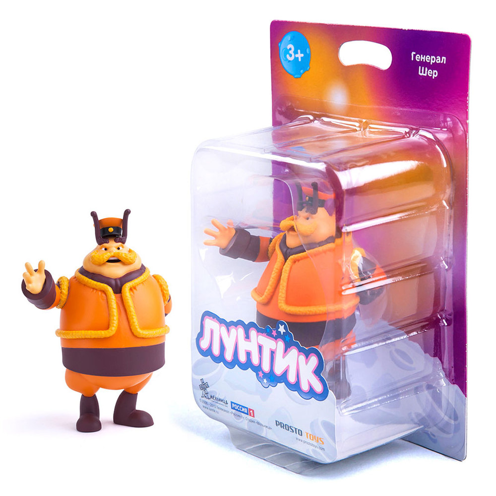 Фигурка PROSTO toys Лунтик и его друзья Генерал Шер фото