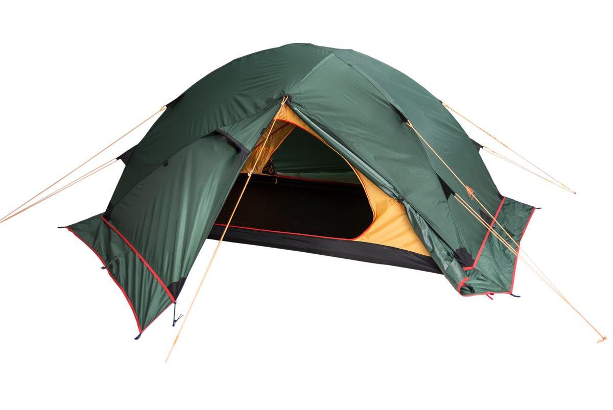 Палатка Alexika Maverick Plus трехместная зеленая